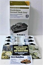 WW Model air AFV Armour painting sistema German tanques gris oscuro vallejo 78400