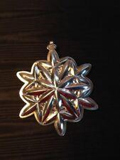 Waterford Sterling Lismore 2005 Snowflake