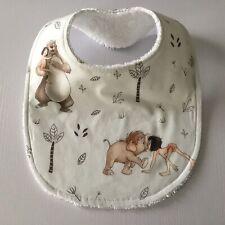 Handmade Baby Bib ~ Jungle Book Print #1