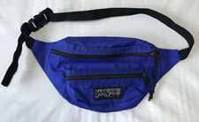 Jansport Retro Purple Hiking Fanny Pack Two Pockets Made in Usa Vintage 90s