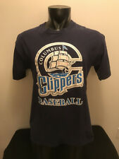 Vintage Columbus Clippers Baseball MILB Shirt Adult Large