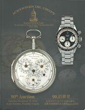 Dr. Crott Pocket Armbanduhr IWC lange Longines Omega Patek Piguet ROLEX Katalog