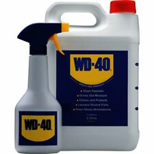 WD40 5 Litre with Applicator Spray Bottle WD40 Multi Purpose Lubricator 5 L