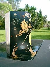Johnnie Walker Black Label Scotch 'WALKING MAN' 2015 CHRISTMAS GIFT BOX OVERLAY