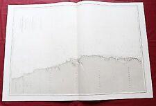 1867 - BRAZIL - RIO GRANDE DO NORTE  - PARAÍBA - PERNAMBUCO - NAUTICAL CHART