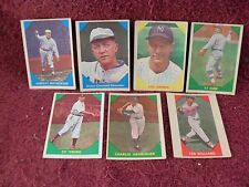 "LOT of TWENTY-FOUR (24) ""Original"" 1960 FLEER ""RARE"""" ""Baseball"" CARDS"