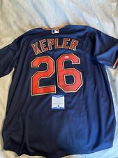 Max Kepler Signed Autographed Twins Jersey Beckett COA