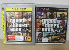 Playstation 3 PS3 Grand Theft Auto IV & Grand Theft Auto 4 (Platinum) games