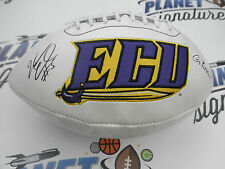 Marcus Crandell signed East Carolina ECU Pirates football COA Calgary Edmonton