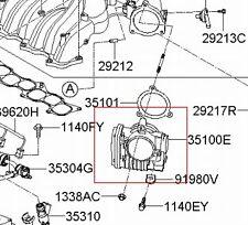KIA 06-09 AMANTI 03 MODEL 06-12 SEDONA 06 ETC ACTUATOR THROTTLE BODY 35100 3C200