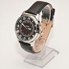 RAKETA - AVIATOR 24 STUNDEN Spezsakas russische Armbanduhr 24H Uhr Fliegeruhr