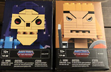 Kubros Masters Of The Universe Skeletor And He-man Building Sets