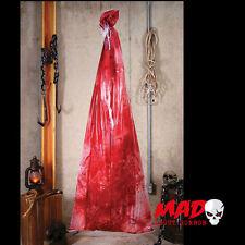 Cuerpo sangrientos en una bolsa-Halloween Mazmorra/cámara de tortura Decoración/Prop miedo!