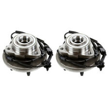 Pair of 2 New Front Wheel Hub Bearing Assembly Units for a Ford Lincoln Mercury