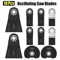 10 Pcs Oscillating multi tool Saw Blades for FEIN MULTIMASTER RIDGID RYOBI BOSCH