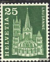 Schweiz 700y G, Phosphoreszenz rückseitig statt vorne postfrisch 1960 Städte