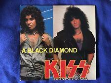 kiss lp A Black Diamond LP  BOOTLEG 33 Live