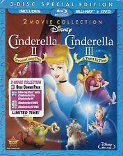 Cinderella II & Cinderella III 3-Disc Special Edition Blu-ray + DVD + Slipcover