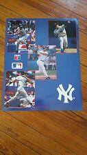 New York Yankees Poster Mattingly, Mass, Tartarbull, & Jim Abbott MLB Product