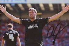 WIGAN: GRANT HOLT SIGNED 6x4 ACTION PHOTO+COA