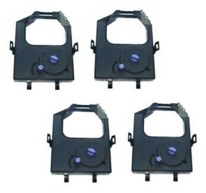 4 x Ink Ribbon for IBM 9068 A-01 A-03 46H2717 - Nylon Black Re-Ink 0 5/16in