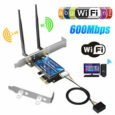 6000Mbps PCI-E Dual Band Wireless Adapter Card Bluetooth 5.0 Network For Desktop