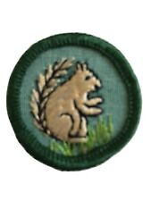 Vtg 1960-62 Intermediate Girl Scout Badge Mammal Land Animal Squirrel New
