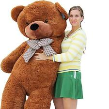 "Joyfay® 78"" Giant Teddy Bear Dark Brown Stuffed Toy Birthday Gift 6.5ft 200cm"