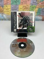 SHIPS SAME DAY Epidemic (Sony PlayStation 1) PS1 Black Label Complete Game Rare