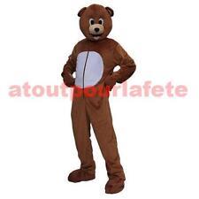 Déguisement,Mascotte d' Ours,Animal,Grosse tête-Accessoire,Carnaval,Costume,Fête