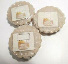 Yankee Candle 3 Sugared Pumpkin Swirl scented Tarts Wax Melts - New