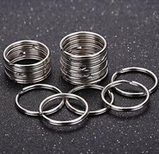 Key Rings Bulk Keychain Split Hoop Flat Metal Loop Car Keys Crafts Heavy Duty