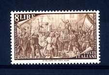 ITALIA REP. - 1948 - Centenario del Risorgimento - 8 L. - Repubblica veneta MNH
