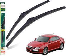 "Alfa Romeo GT 2003-2005 replacement set front wiper blades HEYNER HYBRID 22""16"""