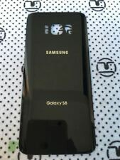 Samsung Galaxy S8 G950 Black Glass Back Cover Housing Battery Door +Tape