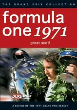 Formula One Review 1971 (New DVD) F1 Grand Prix Season Stewart Tyrrell