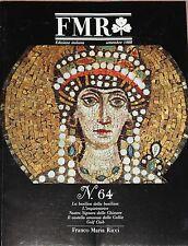 Rivista d'arte FMR (mensile di Franco Maria Ricci - n°64 1988 1/16