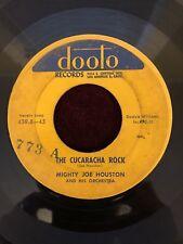 Mighty Joe Houston - Shindig/The Cucaracha Rock 50s Dooto INST
