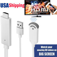 Wireless WiFi HDMI Cable Video Adapter for iphone XS MAX XR IOS 12 Android to TV