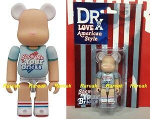 Medicom Be@rbrick DRX Spirit of Love 76 American Style 100% Bearbrick 1pc