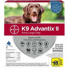 K9 Advantix II, Extra Large for Dogs, Over 55 Pound, 2 Month