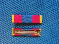 Barette dixmude de la médaille de la Défense Nationale or DéfNat