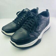Skechers Men's Shoes Relaxed FIT: Monaco TR - 51579 / Black / Size 11.5