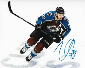 Nathan MacKinnon Autographed Signed 8x10 Photo Lightning REPRINT