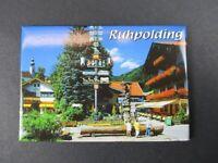 Ruhpolding ,8 cm Foto Magnet Souvenir Germany,Deutschland,NEU