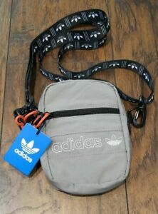 Adidas Core Festival Crossbody Unisex Shoulder Bag Gray/Black