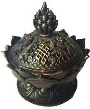 Encensoir traditionnel Tibétain Bronze