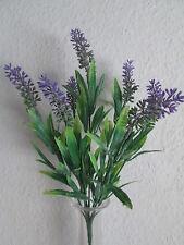 Deko Lavendel Pick incl. Stiel 32cm Künstliche Kunst Pflanzen Blumen Kunstblumen