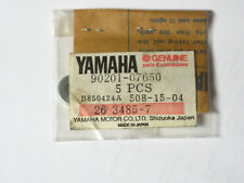 1977 Yamaha SRX440A Snowmobile Primary Sheave Plate Washers (5) 90201-07650 NOS