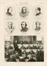 1873-ANTIQUE PRINT OKEEFE Procès en diffamation Cardinal Cullen Cour Whiteside (169)